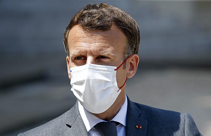 Француз проведет четыре месяца в тюрьме за пощечину Макрону