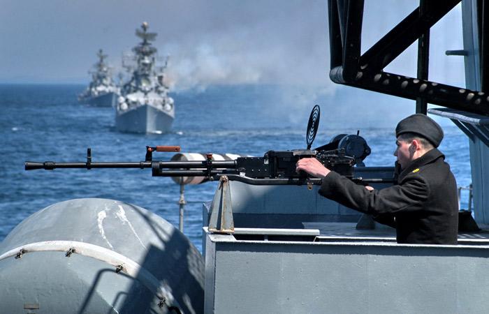 Россия начала крупнейшие со времен СССР учения в Тихом океане
