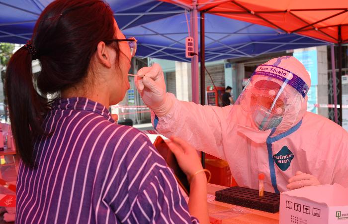В китайской провинции Гуандун выявили девять новых случаев COVID-19