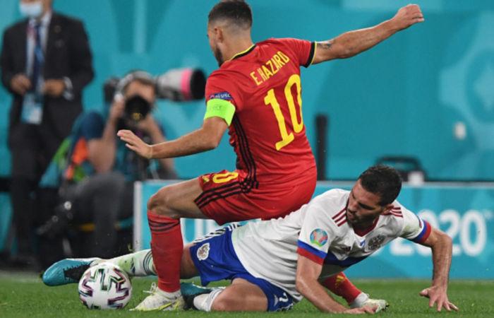 Сборная России крупно проиграла Бельгии