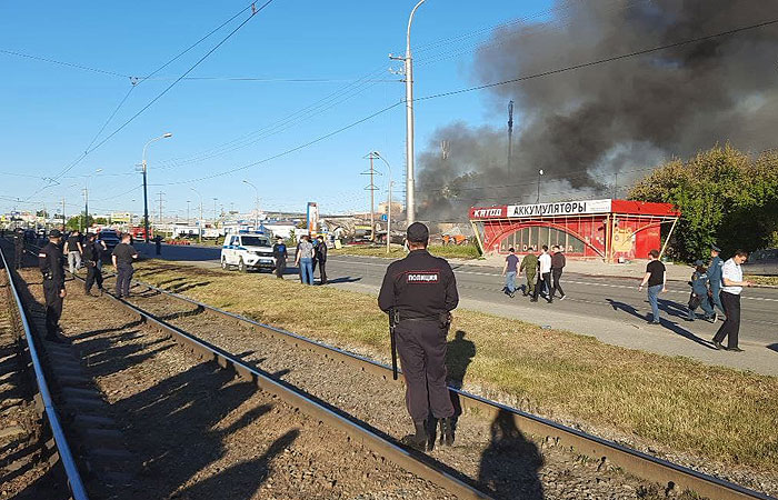 Число пострадавших при взрыве на АЗС в Новосибирске увеличилось до 16