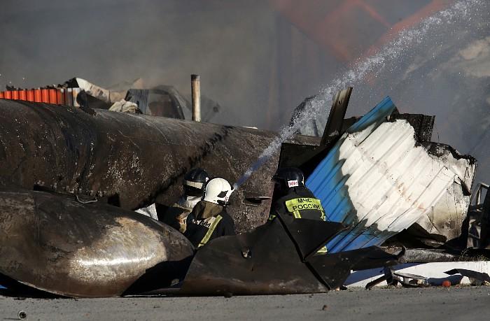 Новосибирский Минздрав заявил о 28 пострадавших при пожаре на заправке
