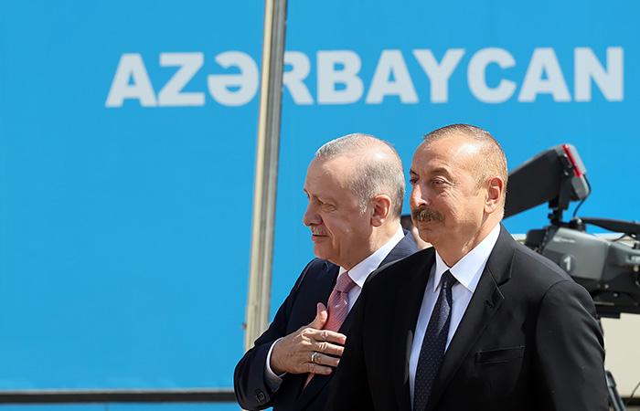Алиев и Эрдоган подписали декларацию о союзнических отношениях