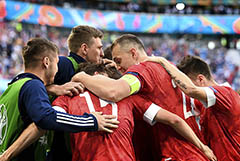 Сборная России победила Финляндию