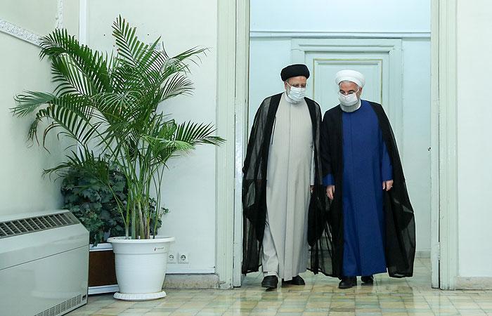 Рухани встретился с лидирующим на выборах президента Ирана Раиси