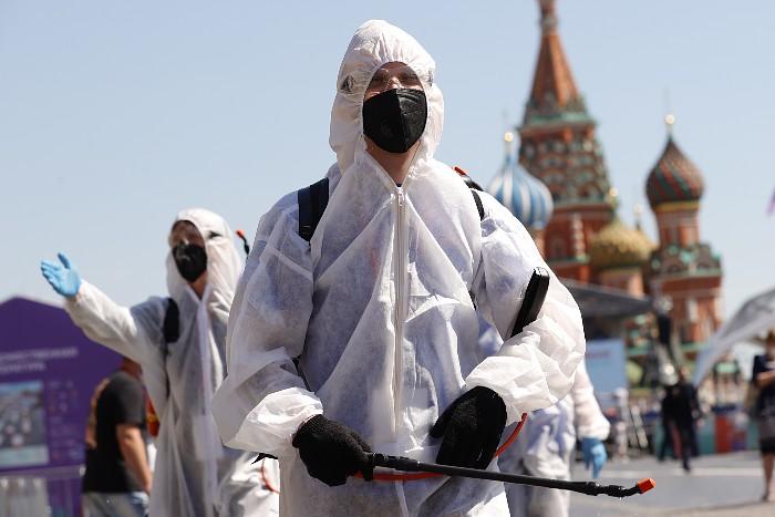 В России за сутки выявлено 17,6 тыс. случаев коронавируса