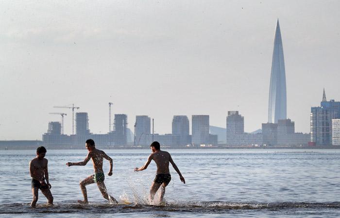 Очередной температурный рекорд побит в Петербурге