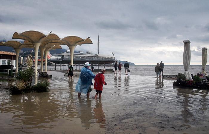 В море у берегов Ялты не обнаружили возбудителя холеры