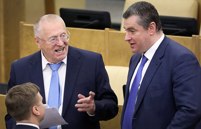 Жириновский и Слуцкий пойдут в Думу во главе списка ЛДПР