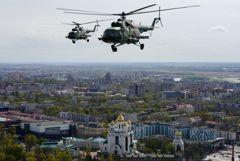 Вертолет Росгвардии упал в Ленинградской области