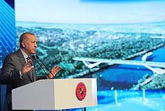 Эрдоган объявил о начале строительства дублирующего Босфор канала