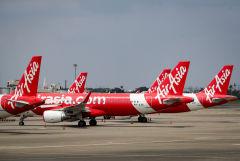 Индонезийское подразделение Air Asia приостановило полеты из-за COVID-19