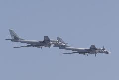 Ту-160 и Ту-95МС выполнили пуски ракет по арктическому полигону