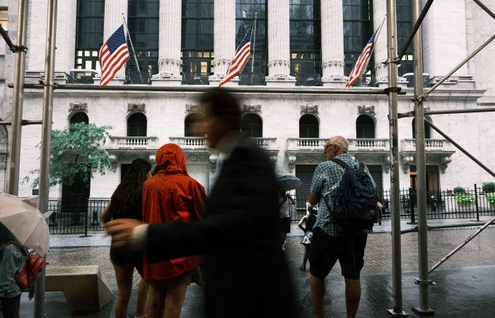 Фондовый рынок США упал на опасениях за мировую экономику