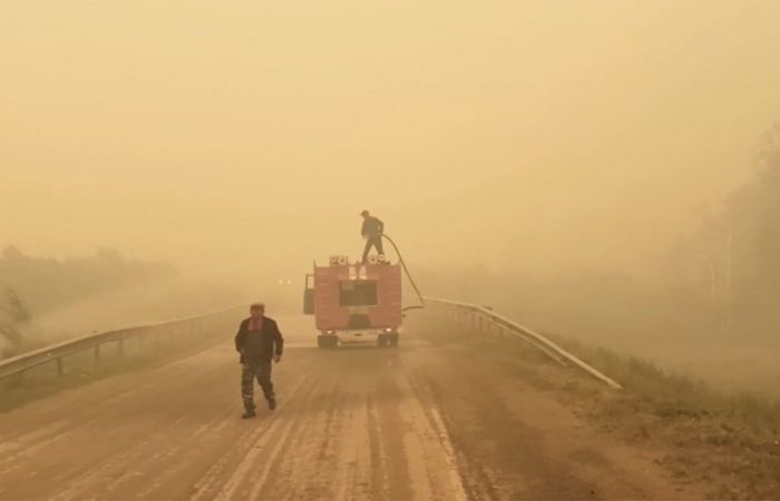 Площадь лесных пожаров в Челябинской области увеличилась за ночь втрое