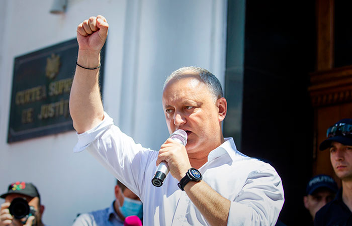 Додон признал поражение на парламентских выборах в Молдавии