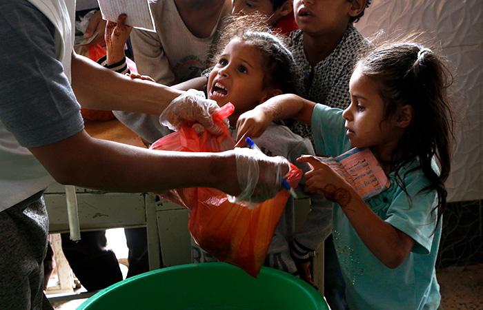 С началом пандемии увеличилось количество голодающих в мире