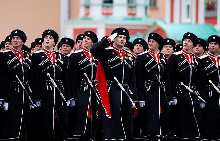 Подразделения казаков в ряде регионов войдут в состав Росгвардии