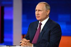 Путин заявил, что адресовал свою статью как жителям РФ, так и Украины