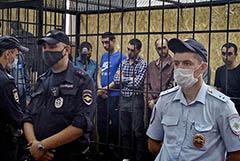 Число арестованных участников драки мигрантов в Москве выросло до 42