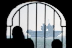 На флагмане британского флота во время похода произошла вспышка COVID