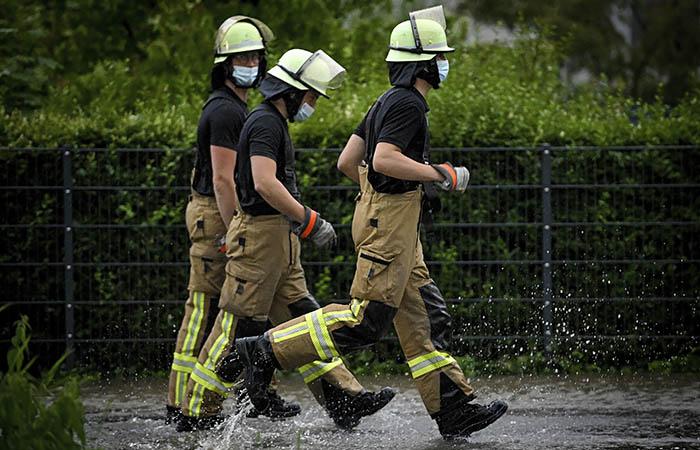 В Германии после наводнения пропали без вести 60 человек