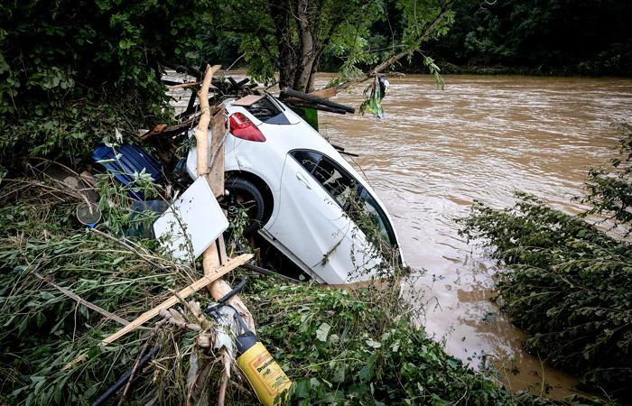 Более 80 человек погибли в Германии из-за наводнения