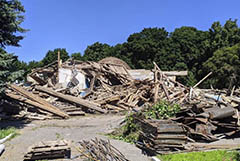 Минкультуры нашло нарушения при сносе деревянного планетария в Пензе