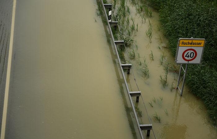 На юго-востоке Баварии ввели режим ЧС из-за наводнения