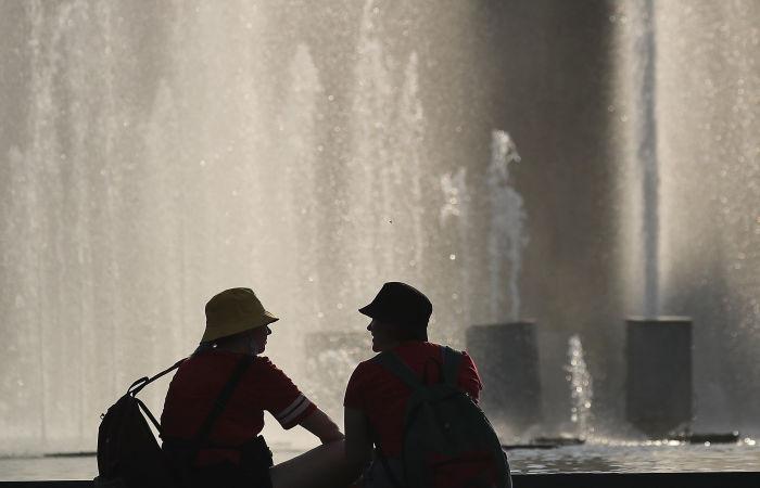 Аномальная жара сохраняется в Москве