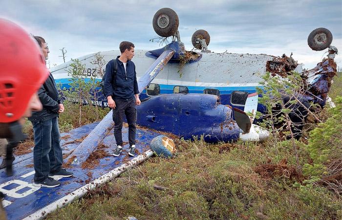 Двигатели аварийно севшего Ан-28 заглохли при обледенении в облаках