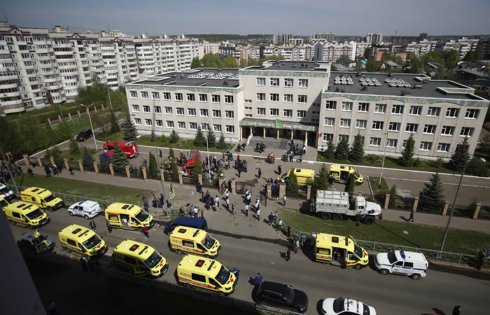 Устроивший стрельбу в школе в Казани был невменяем в момент нападения
