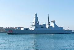 Пять из шести британских эсминцев не могут выйти в поход из-за технических проблем