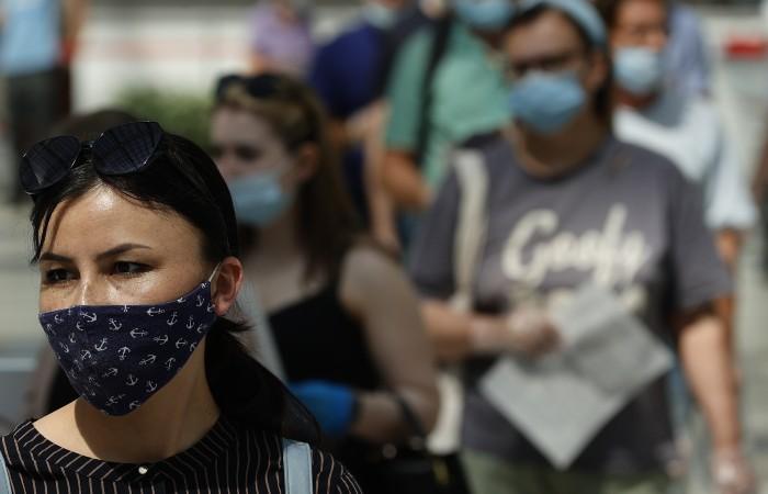 В России выявили еще 23 947 случаев заражения коронавирусом