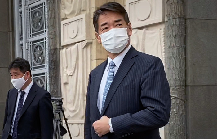 Послу Японии заявлен протест в связи с территориальными претензиями Токио к РФ