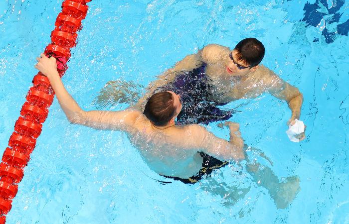 Россияне Рылов и Колесников завоевали золото и серебро в плавании