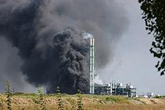 При взрыве на химическом предприятии в Германии пострадали люди