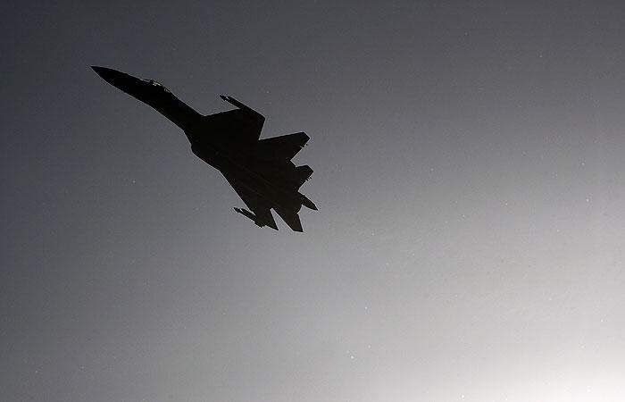 Потерпевший крушение Су-35 упал в Охотское море
