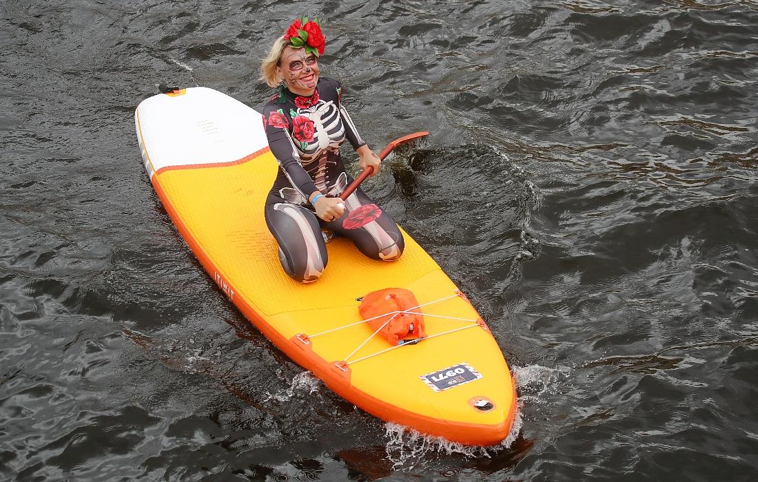Фестиваль SUP-серфинга в Петербурге