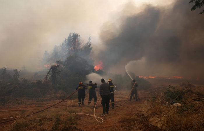В Греции за десять дней сгорело более 56 тыс. гектаров