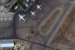 Два самолета не смогли сесть в аэропорту Кабула