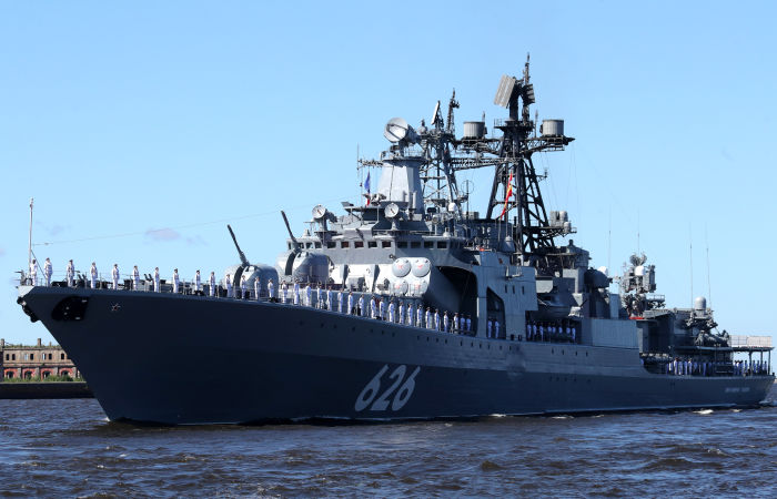 El Pais сообщила, что Испания не пустила российские корабли в Сеуту