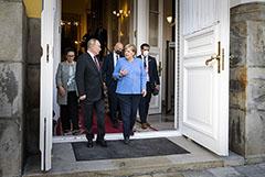 Путин заявил о наращивании сотрудничества с ФРГ за 16 лет работы Меркель
