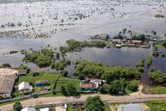 Уровень воды в реках Приамурья из-за дождей опять начал повышаться