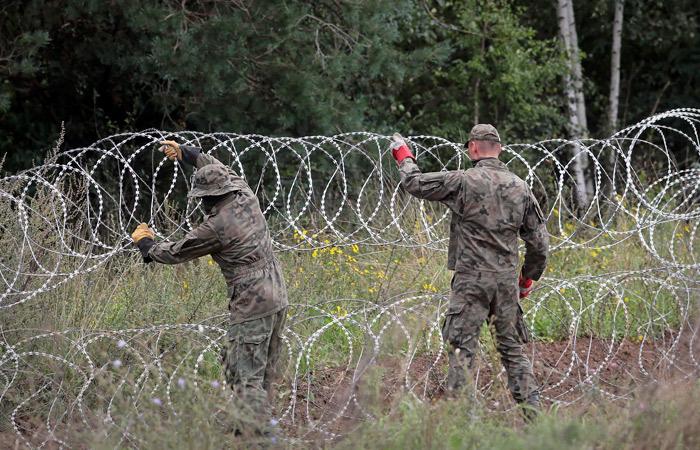 Минобороны Польши задумало построить стену на границе с Белоруссией