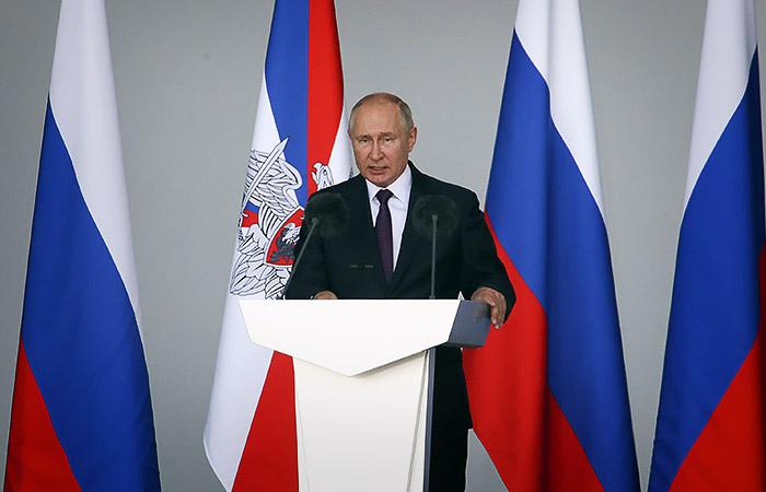 Путин сообщил о строительстве четырех новых российских подлодок