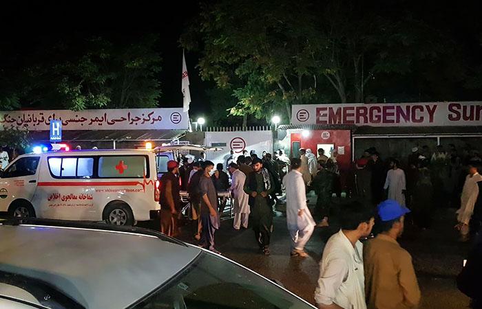 Американские морпехи погибли в результате теракта у аэропорта Кабула