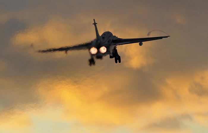 Бомбардировщик Су-24 разбился под Пермью