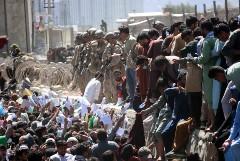 Талибы начали блокировать доступ к аэропорту Кабула