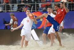 Сборная России победила Швейцарию и вышла в финал ЧМ по пляжному футболу